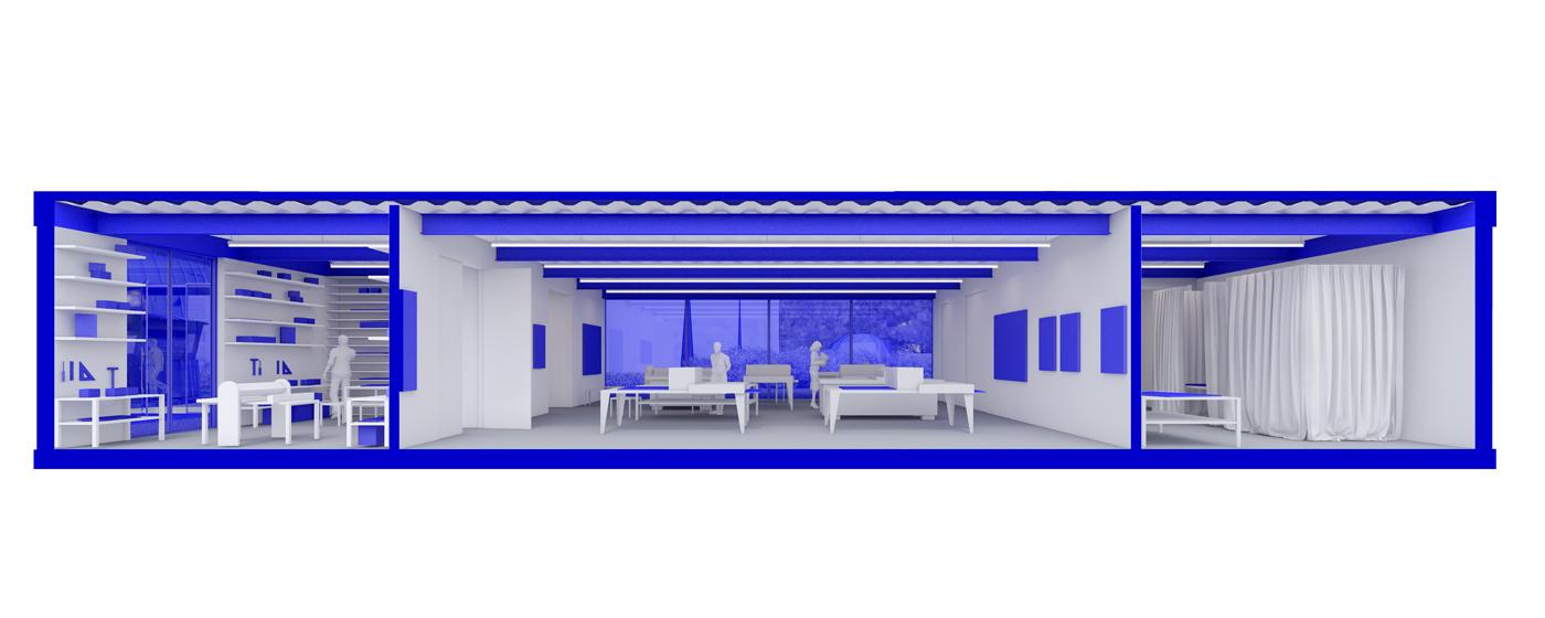 3D visualisatie Frans Masereel centrum - Kasterlee