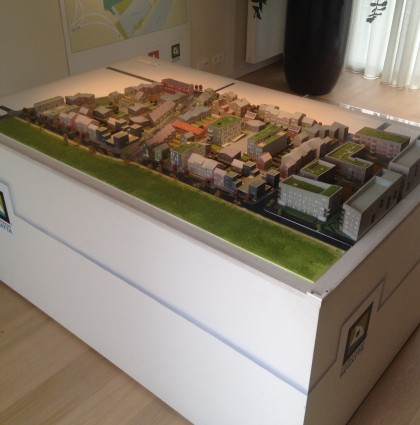 Maquette wooncomplex Regatta – Antwerpen