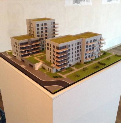 Maquette wooncomplex Zenith 2 – Antwerpen