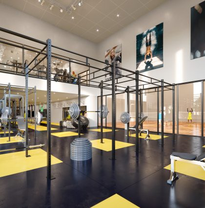 STADIUM 1 FITNESS – Brussel